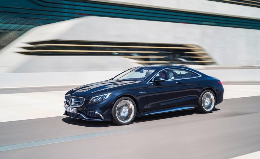 2015 Mercedes-Benz S65 AMG coupe - Slide 2