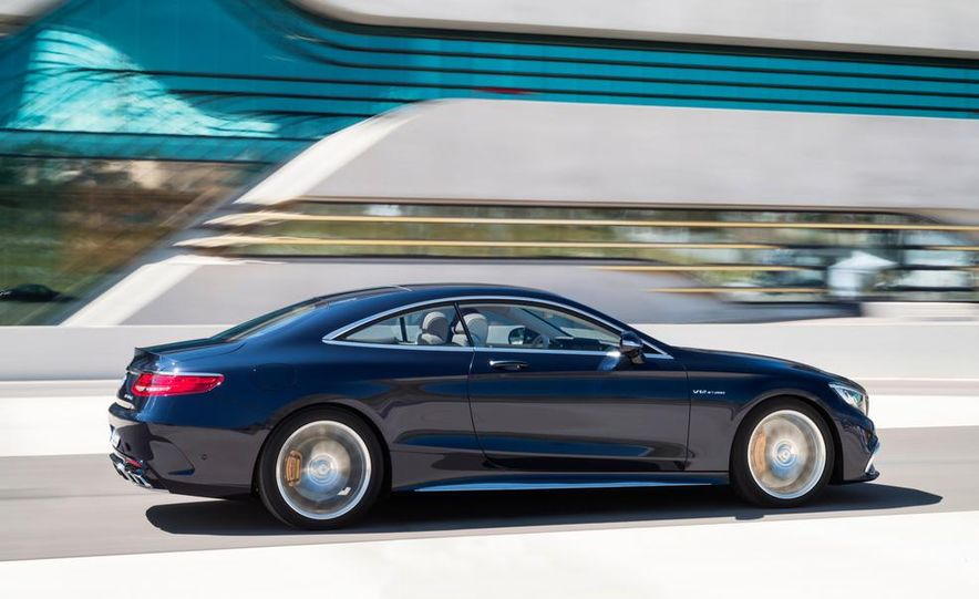 2015 Mercedes-Benz S65 AMG coupe - Slide 4