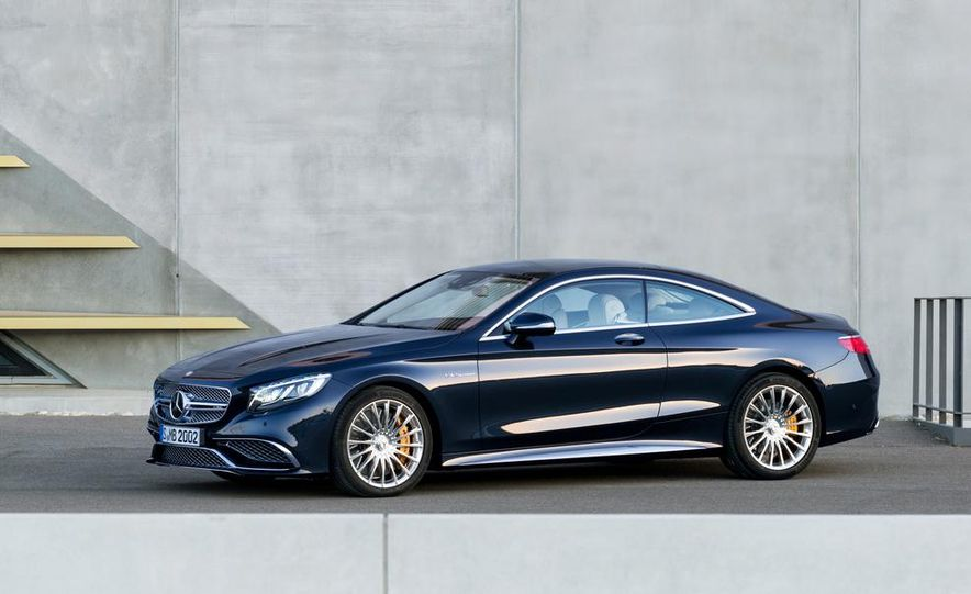 2015 Mercedes-Benz S65 AMG coupe - Slide 6