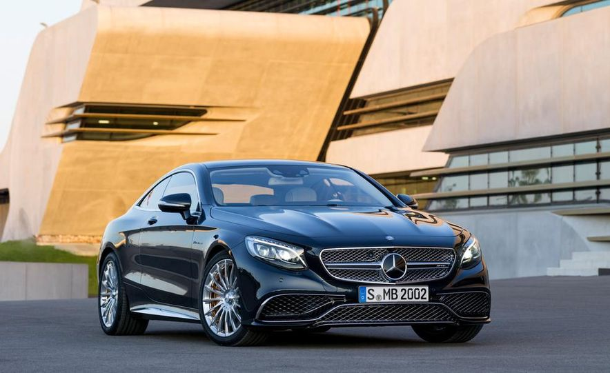2015 Mercedes-Benz S65 AMG coupe - Slide 8