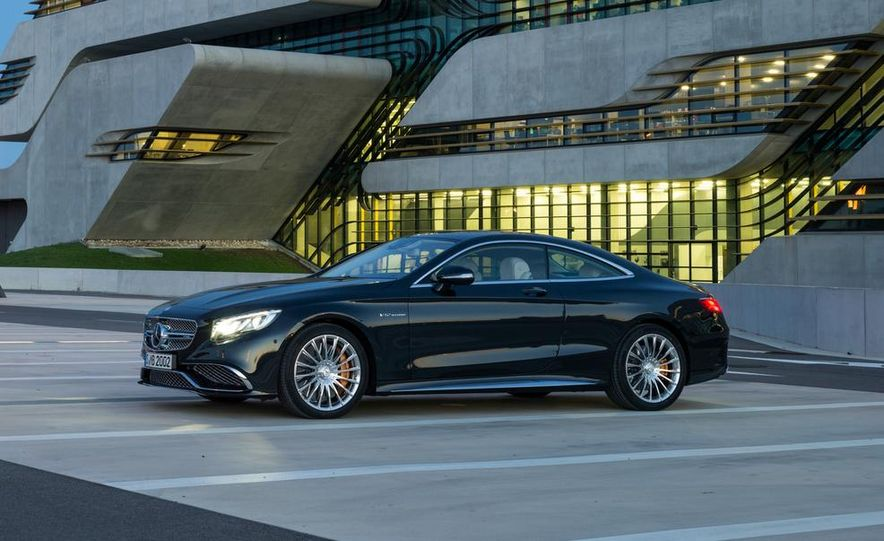2015 Mercedes-Benz S65 AMG coupe - Slide 9