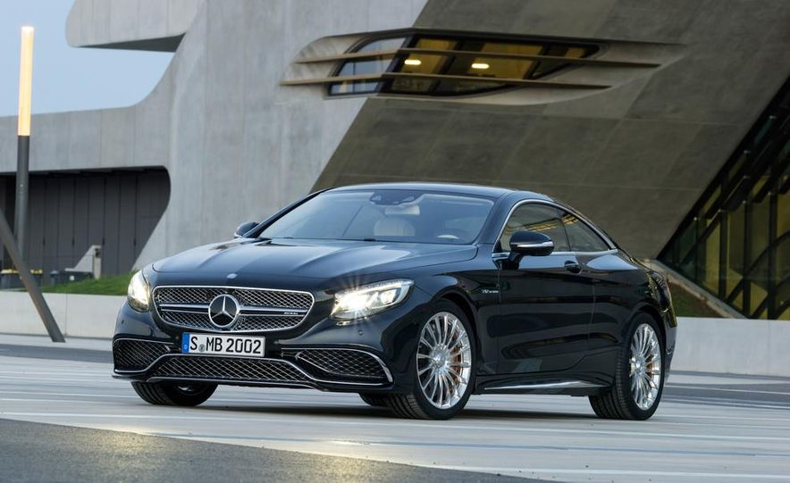 2015 Mercedes-Benz S65 AMG coupe - Slide 10