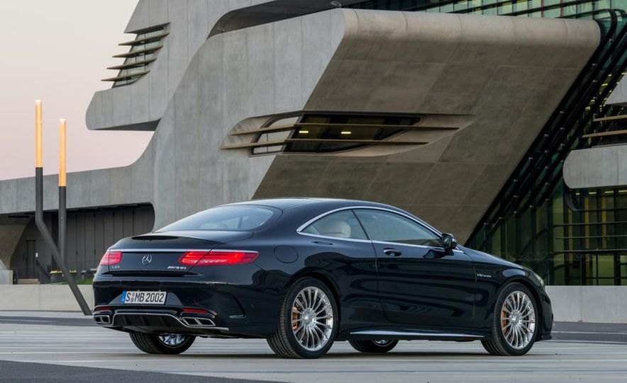2015 Mercedes-Benz S65 AMG coupe - Slide 12
