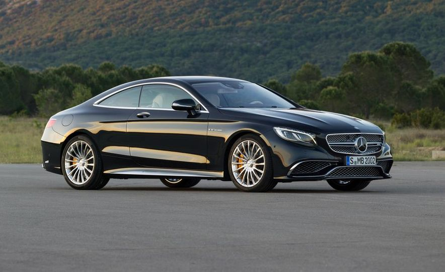 2015 Mercedes-Benz S65 AMG coupe - Slide 13