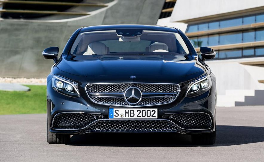 2015 Mercedes-Benz S65 AMG coupe - Slide 15