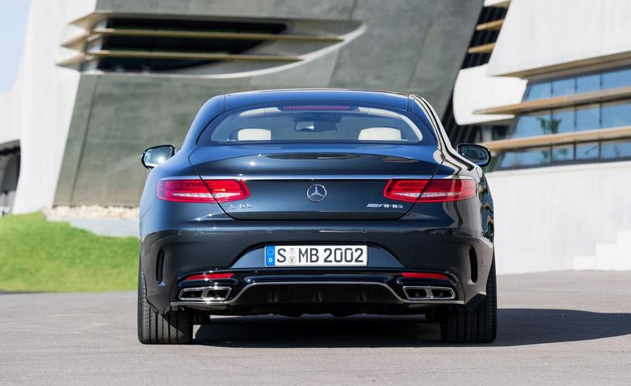 2015 Mercedes-Benz S65 AMG coupe - Slide 16