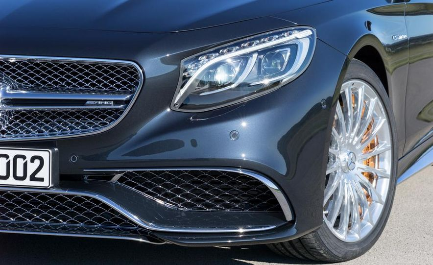 2015 Mercedes-Benz S65 AMG coupe - Slide 17