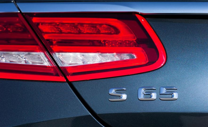 2015 Mercedes-Benz S65 AMG coupe - Slide 19