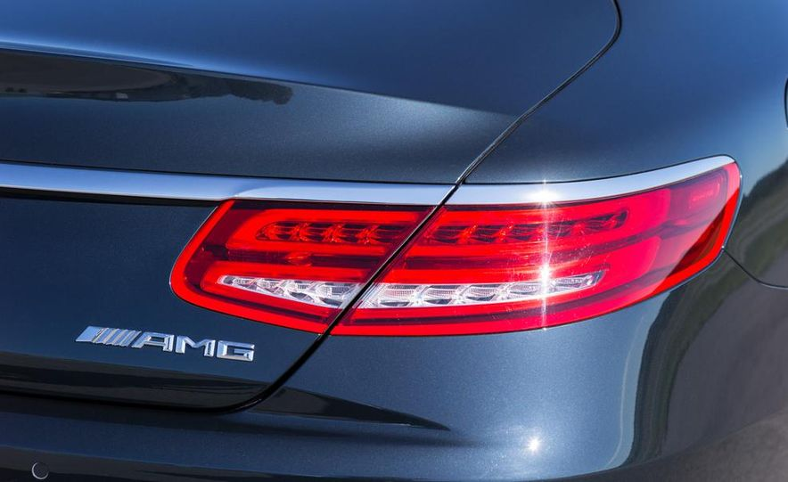 2015 Mercedes-Benz S65 AMG coupe - Slide 20