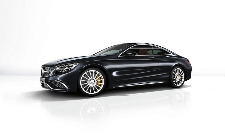 2015 Mercedes-Benz S65 AMG coupe - Slide 24