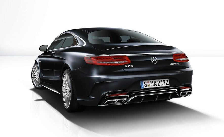 2015 Mercedes-Benz S65 AMG coupe - Slide 29