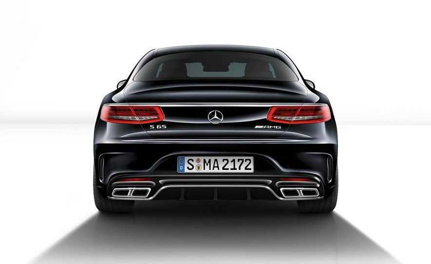 2015 Mercedes-Benz S65 AMG coupe - Slide 30