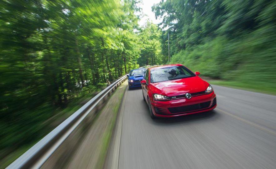 2015 Subaru WRX and 2015 Volkswagen GTI 5-door - Slide 3