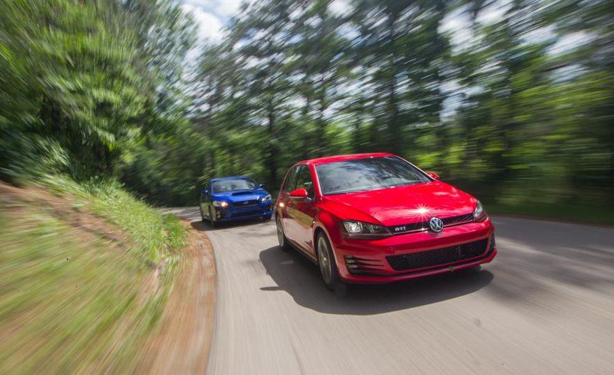 2015 Subaru WRX and 2015 Volkswagen GTI 5-door - Slide 4