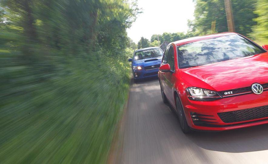 2015 Subaru WRX and 2015 Volkswagen GTI 5-door - Slide 9