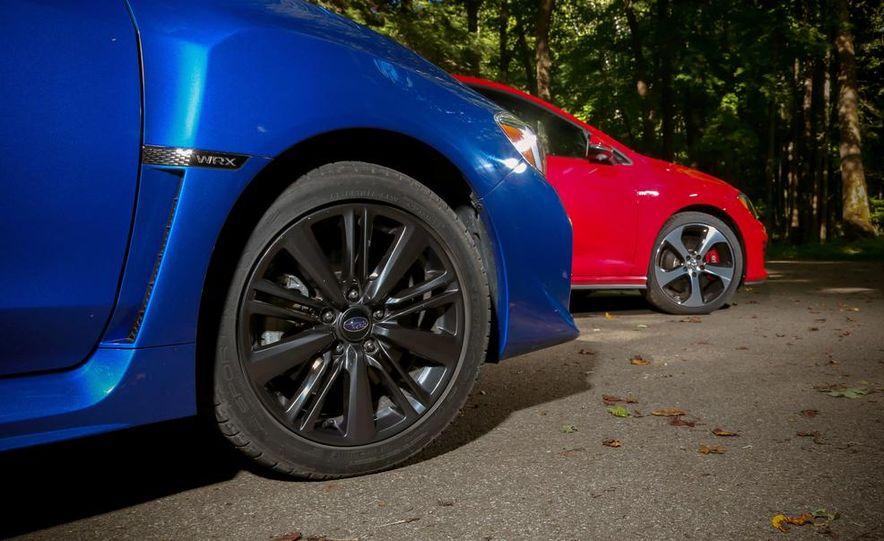 2015 Subaru WRX and 2015 Volkswagen GTI 5-door - Slide 30