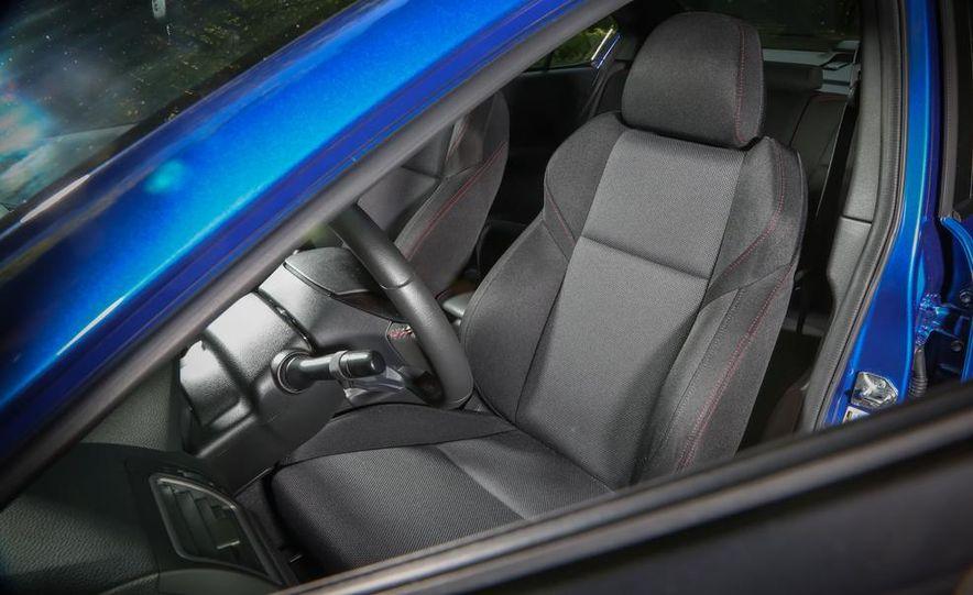 2015 Subaru WRX and 2015 Volkswagen GTI 5-door - Slide 36