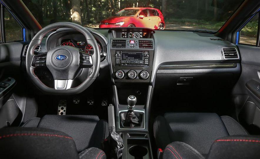 2015 Subaru WRX and 2015 Volkswagen GTI 5-door - Slide 37
