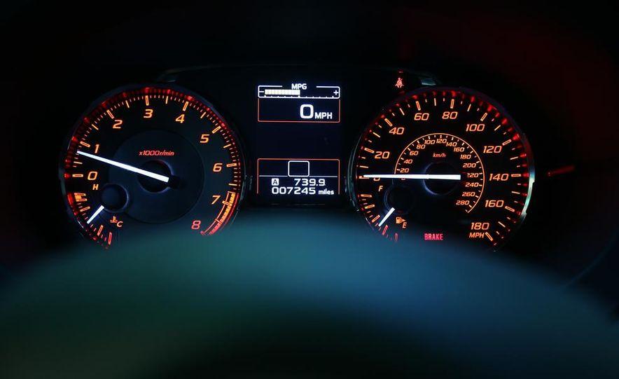 2015 Subaru WRX and 2015 Volkswagen GTI 5-door - Slide 39