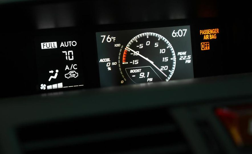 2015 Subaru WRX and 2015 Volkswagen GTI 5-door - Slide 40