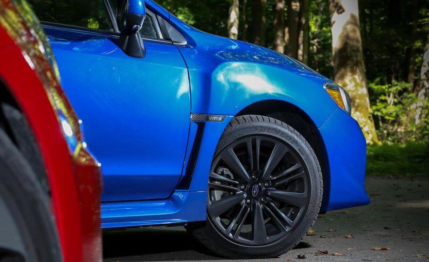 2015 Subaru WRX and 2015 Volkswagen GTI 5-door - Slide 35