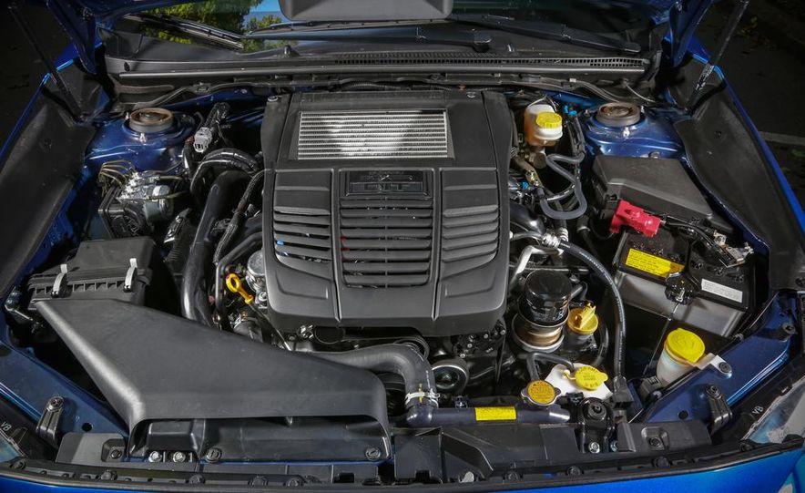 2015 Subaru WRX and 2015 Volkswagen GTI 5-door - Slide 43