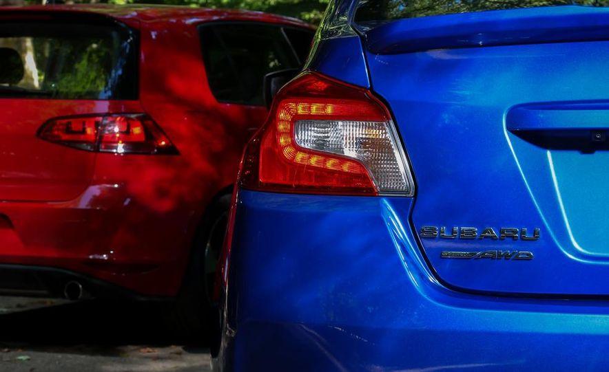 2015 Subaru WRX and 2015 Volkswagen GTI 5-door - Slide 31