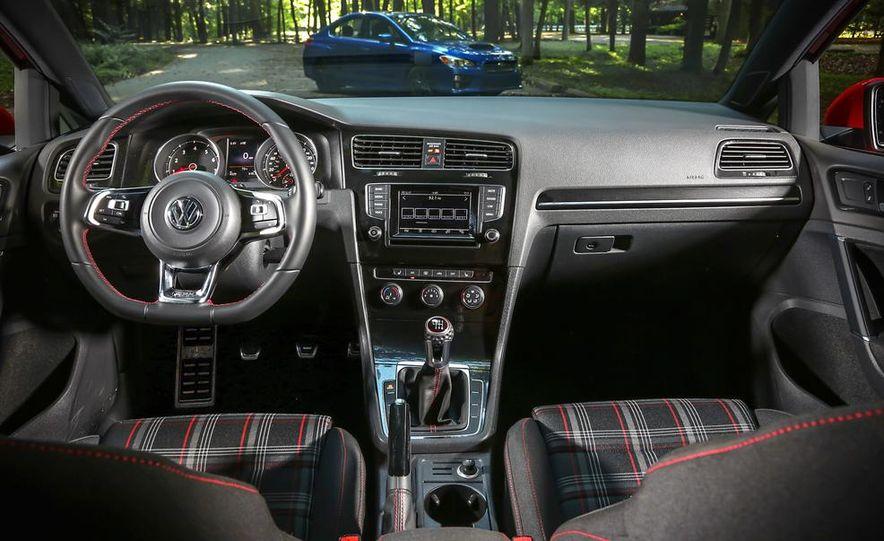 2015 Subaru WRX and 2015 Volkswagen GTI 5-door - Slide 49