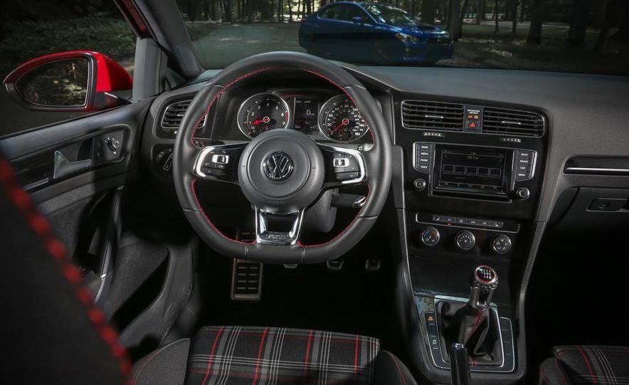 2015 Subaru WRX and 2015 Volkswagen GTI 5-door - Slide 50