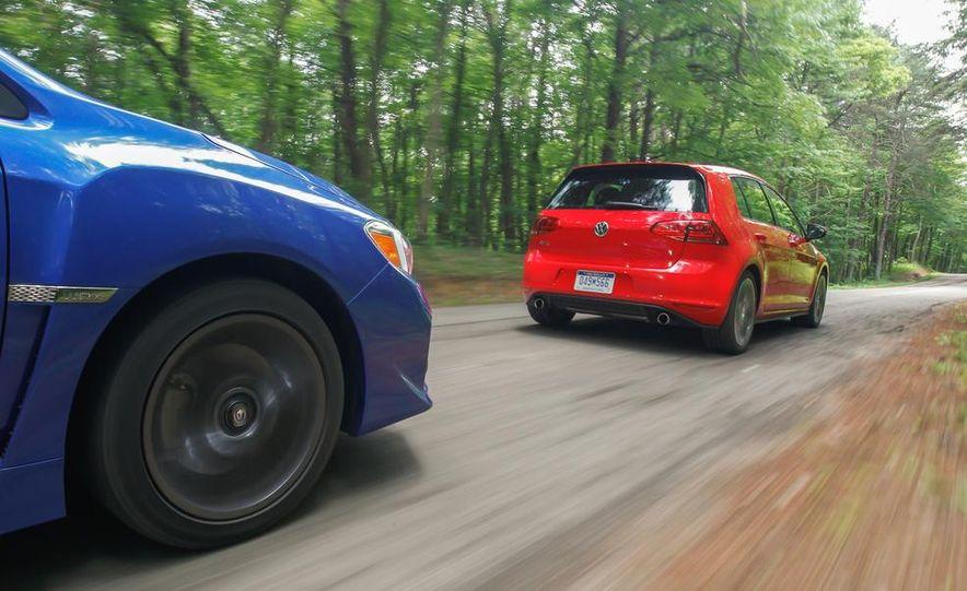 2015 Subaru WRX and 2015 Volkswagen GTI 5-door - Slide 46