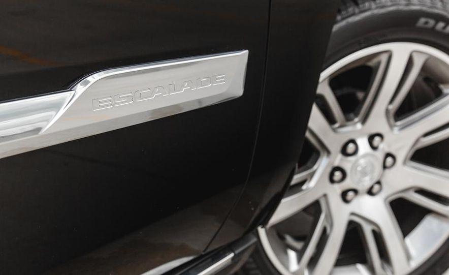 2015 Cadillac Escalade Premium AWD - Slide 26