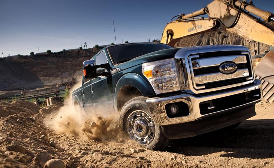 2015 Ford F-250 Super Duty King Ranch Crew Cab FX4 - Slide 19