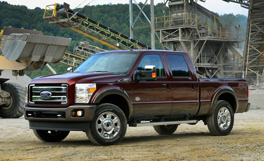 2015 Ford F-250 Super Duty King Ranch Crew Cab FX4 - Slide 3