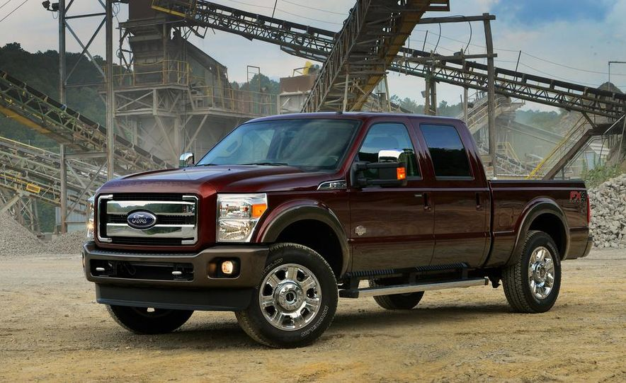 2015 Ford F-250 Super Duty King Ranch Crew Cab FX4 - Slide 4