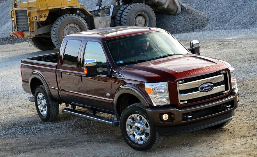 2015 Ford F-250 Super Duty King Ranch Crew Cab FX4 - Slide 5