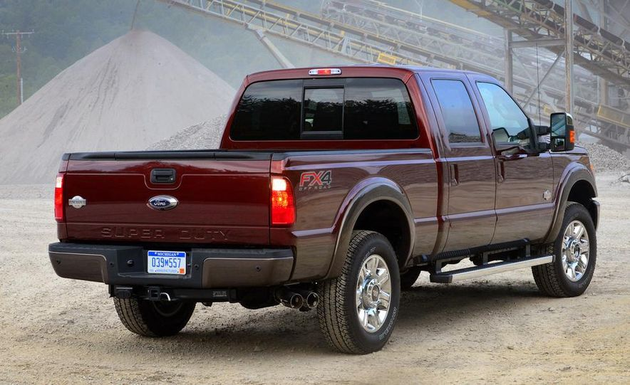 2015 Ford F-250 Super Duty King Ranch Crew Cab FX4 - Slide 7