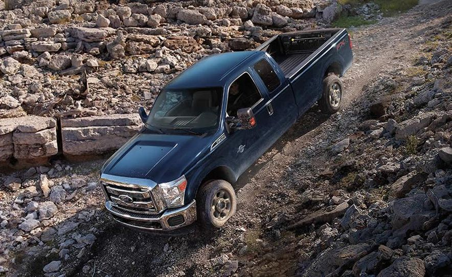2015 Ford F-250 Super Duty King Ranch Crew Cab FX4 - Slide 27