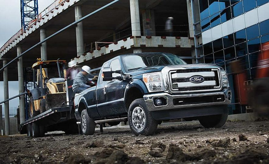 2015 Ford F-250 Super Duty King Ranch Crew Cab FX4 - Slide 26