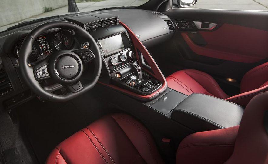2015 Jaguar F-type V-6 S coupe - Slide 21