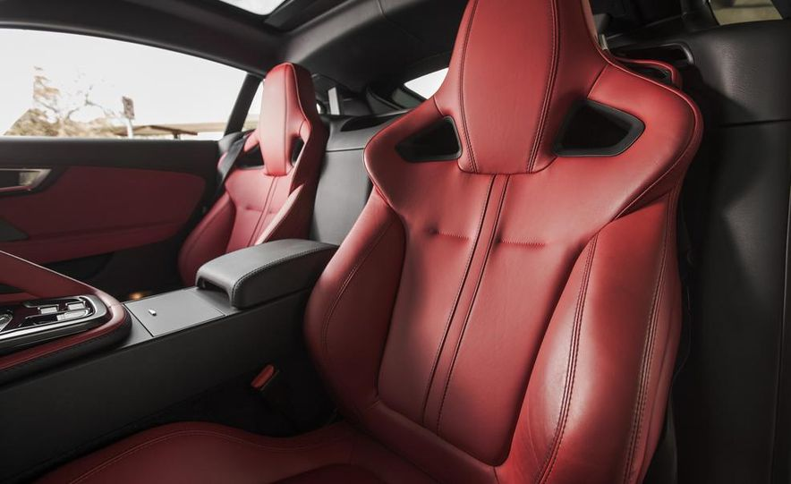2015 Jaguar F-type V-6 S coupe - Slide 26