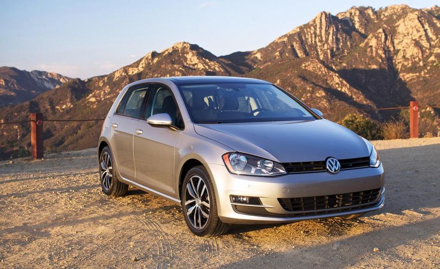 2015 Volkswagen Golf TDI - Slide 4