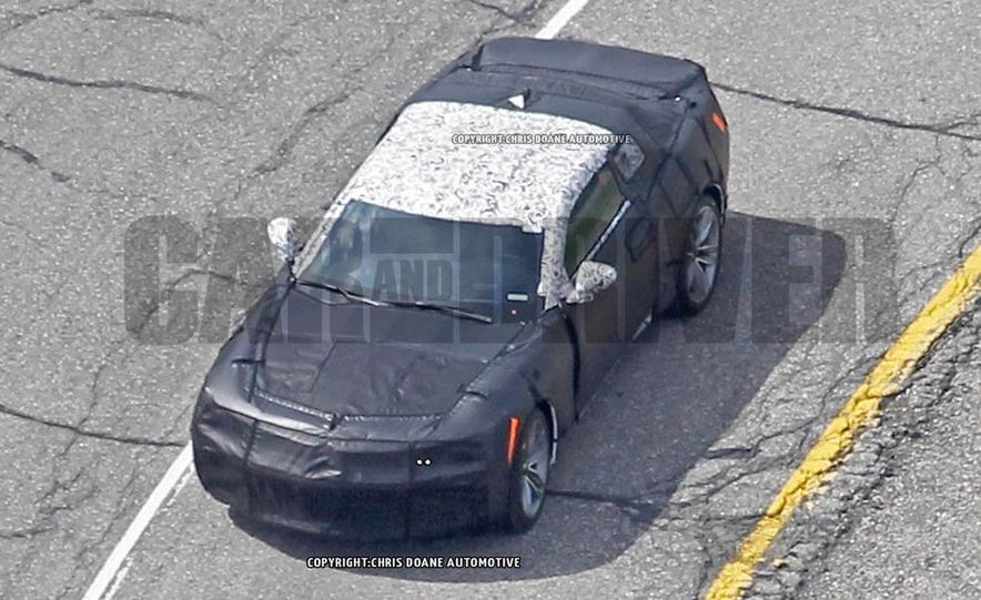 2016 Chevrolet Camaro (spy photo) - Slide 3