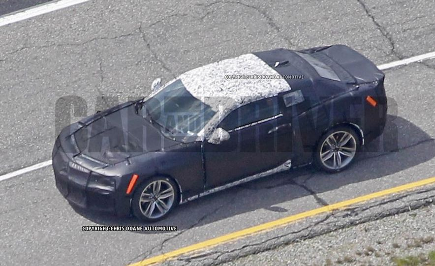 2016 Chevrolet Camaro (spy photo) - Slide 5