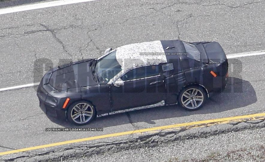 2016 Chevrolet Camaro (spy photo) - Slide 6