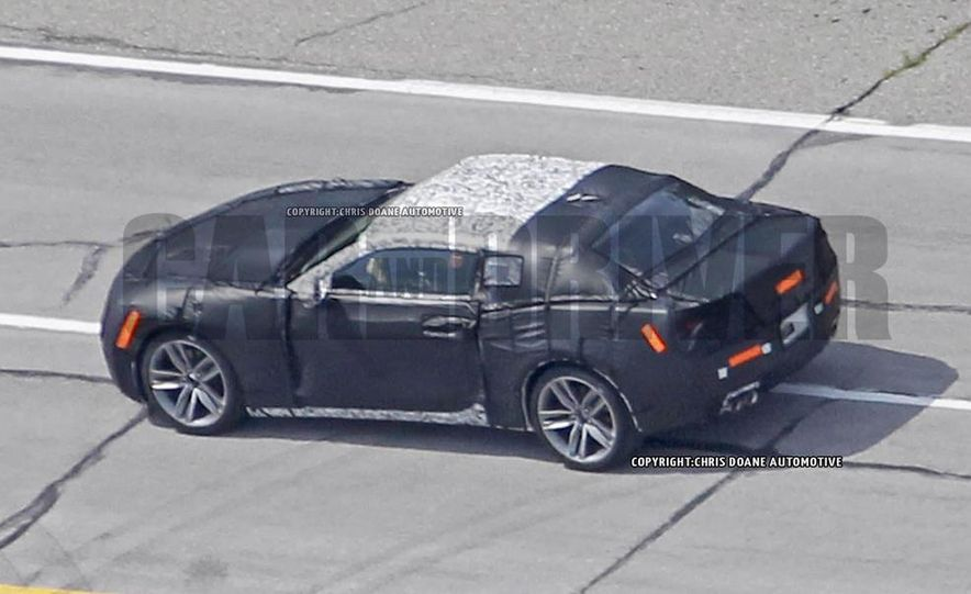 2016 Chevrolet Camaro (spy photo) - Slide 7