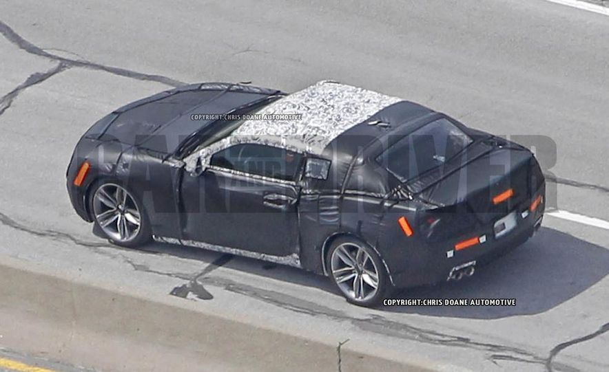 2016 Chevrolet Camaro (spy photo) - Slide 8