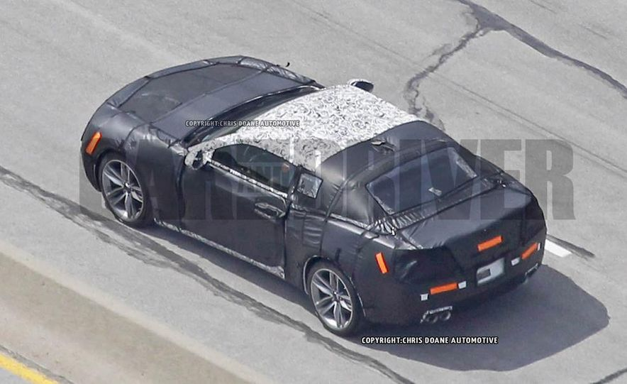 2016 Chevrolet Camaro (spy photo) - Slide 9