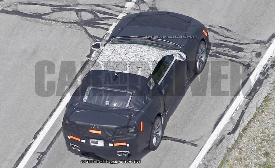 2016 Chevrolet Camaro (spy photo) - Slide 11