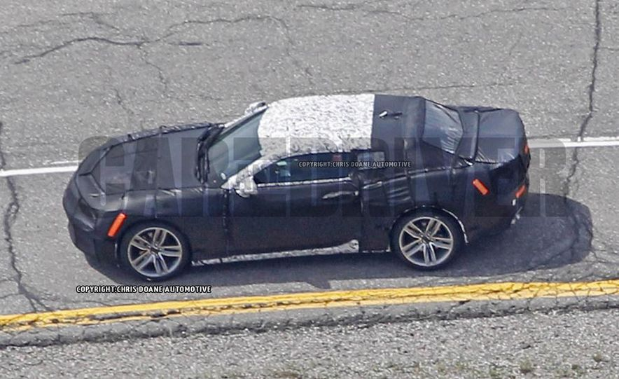 2016 Chevrolet Camaro (spy photo) - Slide 12