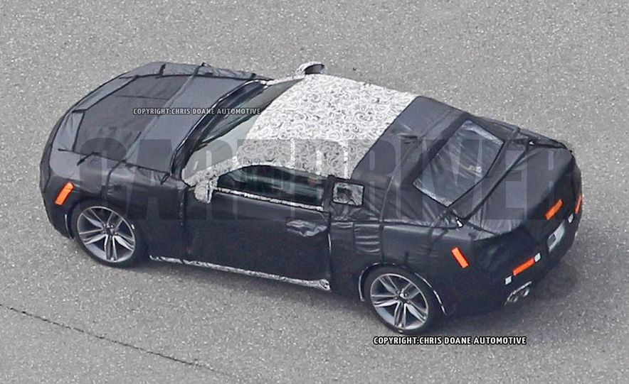 2016 Chevrolet Camaro (spy photo) - Slide 13